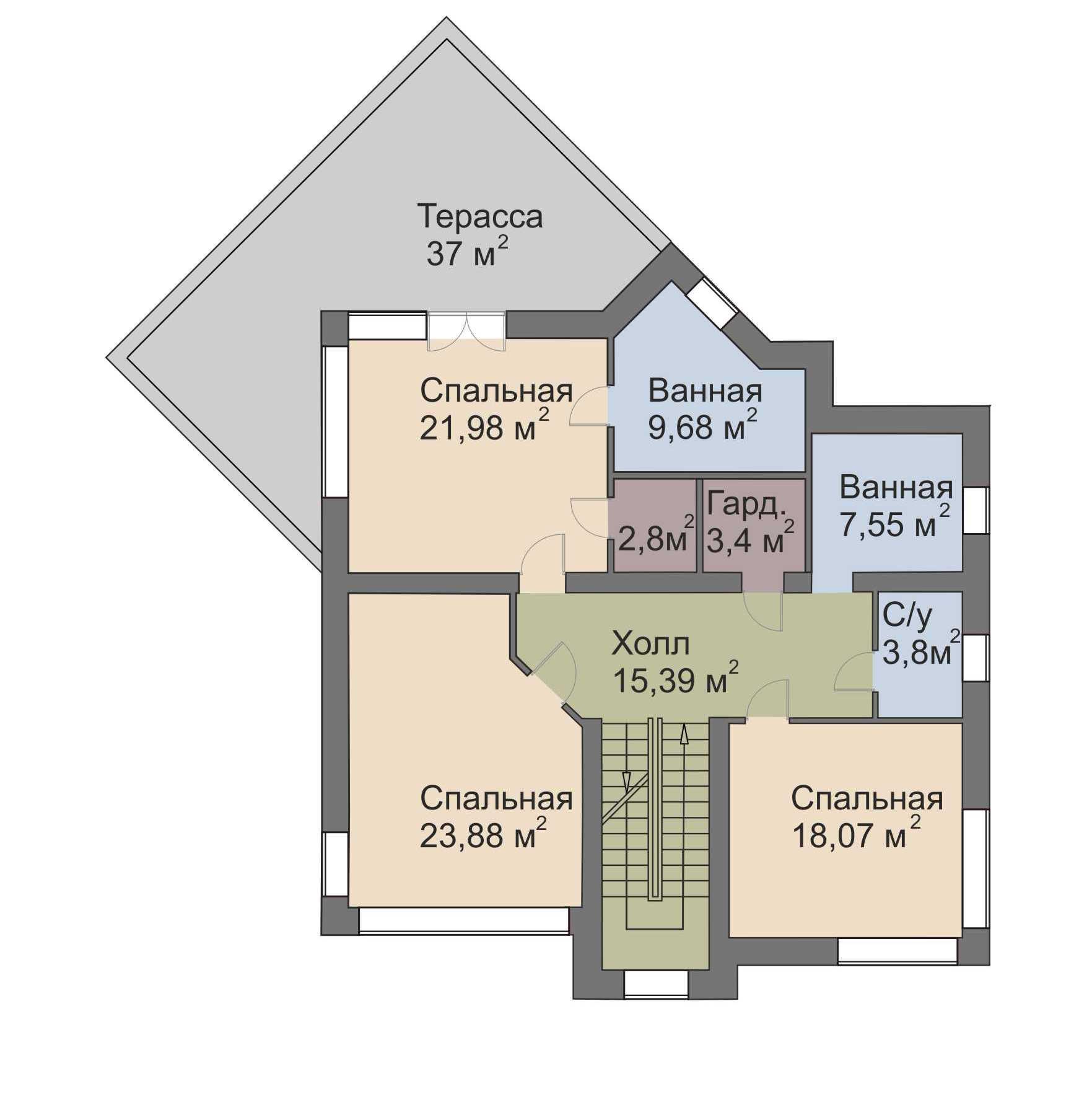 план 2 этажа Голливуд Палникс